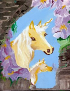 Unicorns are very popular totems